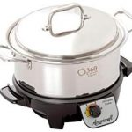 360 Stainless Steel Slow Cooker : Cooks Well—Tough To Clean