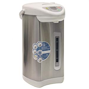 5.28-qt. Electric Kettle in Silver – so good. nice to have different temp settings (2)