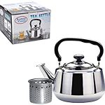 Alpine Cuisine Stainless Steel Stovetop Tea kettle : Tea time!