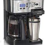 Amazon Renewed Hamilton Beach 49983 2-Way FlexBrew Coffeemaker – Excellent coffee maker.