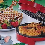 Atico Waffle Zoo Waffle Maker – Make Fun Animal Shaped Waffle in Minutes – the kids will love this,