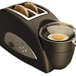 Back to Basics TEM500 Egg-and-Muffin 2-Slice Toaster and Egg Poacher : A MUST for all kitchens!