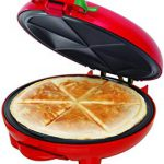 BELLA (13506) 8-inch Quesadilla Maker, Red – Love it! Arrived on time and worth the price