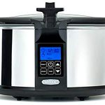 BELLA (14124) 6.5 Quart Programmable Searing Slow Cooker with Locking Lid, Chrome : A Working Mom's Dream
