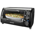 Black & Decker TRO490B 1200-Watt 4-Slice Countertop Oven and Broiler : Didn't last a full two years, but company has good customer service