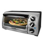 BLACK+DECKER & Decker TRO480BS 4-Slice Toaster Oven – Perfect for my toasted bagel
