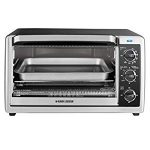 BLACK+DECKER TO1660B 6-Slice Convection Countertop Toaster Oven – Happy With Our Workhorse!