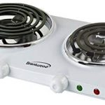 Brentwood Electric Twin Burner Model TS-368, Easily holds a large pot of water for cooking sweet