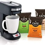 Cafe Valet Café Valet / Single Serve Coffee Brewer Starter Kit/Combo : Quick, clean, great tasting cup of coffee