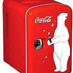 Coca-Cola Koolatron KWC-4  Personal 6-Can Mini Fridge ;P#O455K5/U 7RK-B274606 – and says it works great.