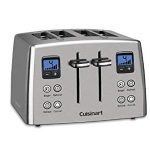 Cuisinart CPT-435FR Countdown 4 Slice Toaster : Nice toaster