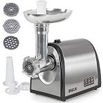 DELLA 048-GM-48214 1000W Electric Meat Grinder Kubbe Attachment : Fat Clogs Often