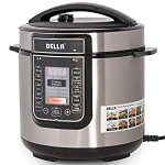 DELLA 8-in-1 Multi-Functional Programmable Pressure Cooker ETL UL CSA, Great Food