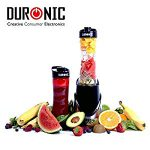 Duronic HEALTHY KICKSTARTER Blend and Go  BL3 /SS Stainless Steel Personal Sports Smoothie Protein Shake 300W Blender – Works great the only problem