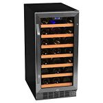 EdgeStar 30 Bottle Built-In Wine Cooler – Stainless Steel/ : Looks just like the wine coolers that cost twice as much