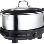 Focus Electrics, LLC West Bend 84866 6-Quart Versatility Slow Cooker, West Bend