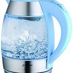 GForce GF-P1056-1114 Electric Glass Tea Kettle With LED Illumination 1, Five Stars