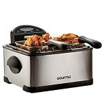 Gourmia GDF450 Compact Electric Deep Fryer 3 Baskets Dual Thermostat & Timer Stainless Steel 4 – Horrible instructions