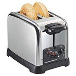 Hamilton Beach Classic Chrome 2 Slice Toaster – Updated design takes 2 stars off what was once a 5 star toaster