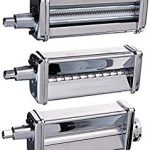 KitchenAid KPRA Pasta Roller and cutter, Works well, but use different pasta recipe