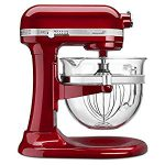 KitchenAid KSM6521XCA Professional 6500 Design Series Candy Apple  Bowl-Lift Stand Mixer : Great, wonderful
