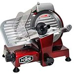 KitchenWare Station KWS MS-6RS Premium 200w Electric Meat Slicer 6-Inch in  Stainless Steel Blade : Very good quality. Slices perfectly!