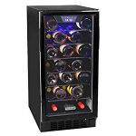 Koldfront 30 Bottle Built-In Single Zone Wine Cooler – – but works nicely and looks so much better than the unsightly trash
