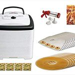 Nesco American Harvest FD-80 Square Dehydrator Value Package 8 Trays, Missed Home Dehydrating