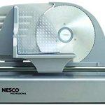 Nesco FS-150PR Professional 150-Watt Food Slicer – I don't know