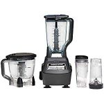 Ninja Mega Kitchen System : Not as good as the 900 watt Nutribullet for making green smoothies