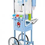 Nostalgia SCC200 Snow Cone Cart – 54 Inches Tall, Pleasently surprised