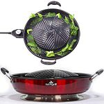 NutriGrill Electric Grill With Accessories: Healthy Smokeless Cooking BBQ Grill, Five Stars