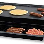 Oster CKSTGRFM-1018 10 by 18-1/2-Inch Griddle – Three Stars