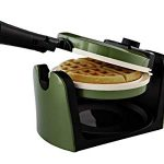 Oster Titanium Infused DuraCeramic Flip Waffle Maker : Used it for the first time this morning and I