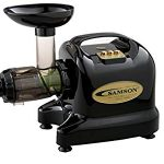 Samson Brands Samson 6-1 Single Auger Wheatgrass & Multi Purpose Juicer – Model GB9002 – BLACK : A mixed review