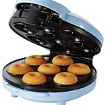 Sunbeam FPSBDMM921 Mini Donut Maker – The recipe that comes with it is horrible.  See other reviews for better recipes.
