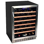 supershop EdgeStar 53 Bottle Built-In Wine Cooler – Stainless Steel/, Works
