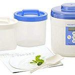 TANICA) Start Set Yogurutia Blue Ym-1200-nb [Corresponding to Amazake-natto Kefir Yogurt : Multifunction yogurt machine