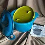 Tupperware Microwave Rice Maker – very happy