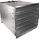 Weston 10 Tray Stainless Steel Food Dehydrator – Highly recommend if you are looking for quality and speed in